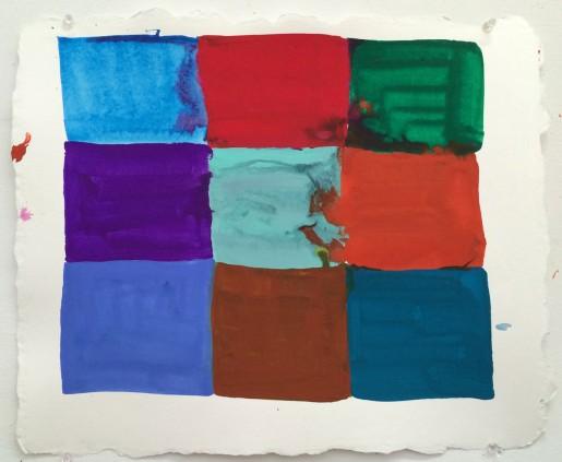 Judy Ledgerwood, Chrome in 'A' Minor, 2014