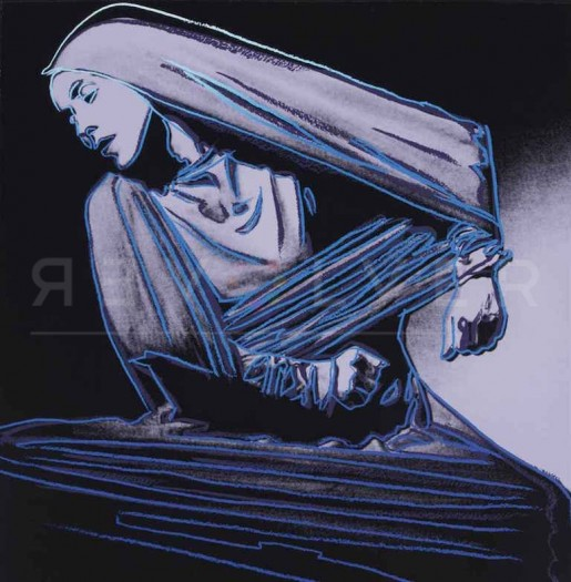 "Andy Warhol, Lamentation (FS II.388), from the Portfolio ""Martha Graham"", 1986"