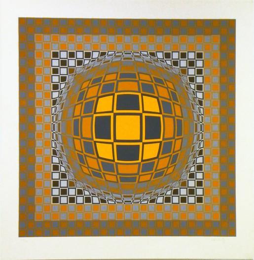 Victor Vasarely, Zeng, 1975