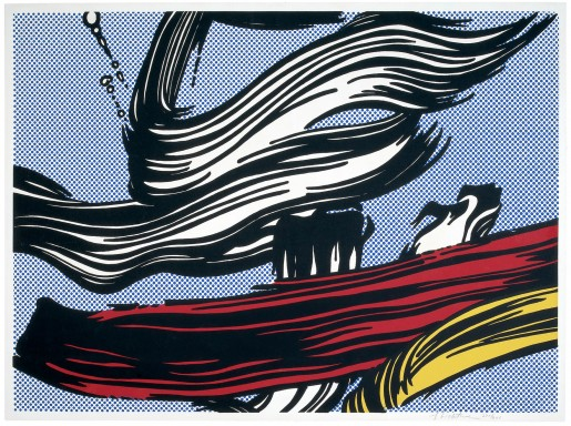Roy Lichtenstein, Brushstrokes, 1967