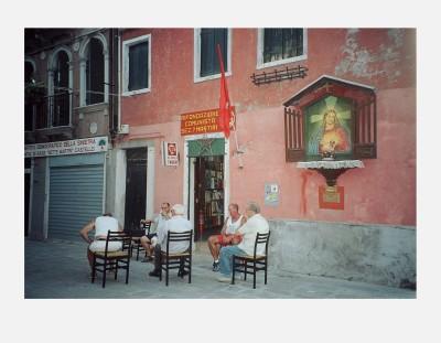 Mona Hatoum - Red Jesus (Venice) 2003