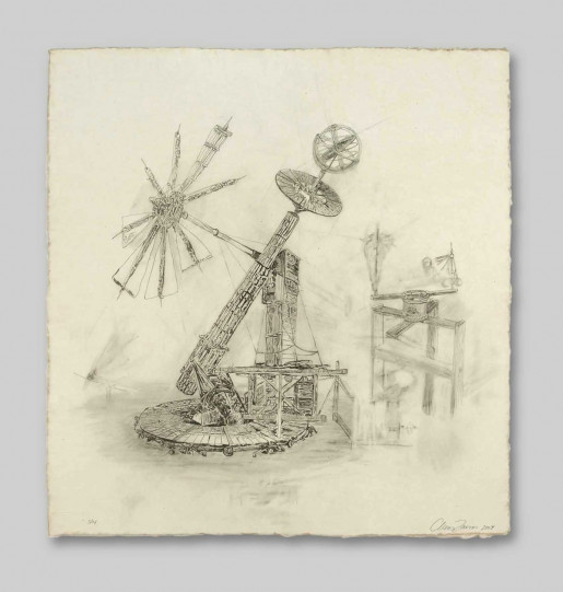 Chris Larson, Untitled (Windmill), 2004