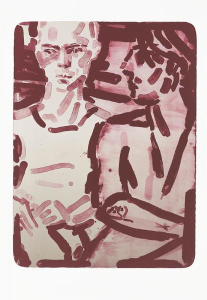 Elizabeth Peyton, Elias - Rot, 2015