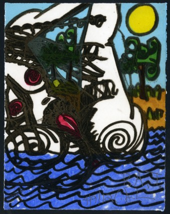 The Nude by Carroll Dunham