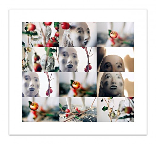 Kiki Smith, Eve in the Pomegranates, 2012