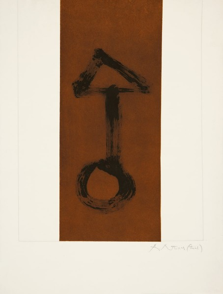 Robert Motherwell, Primal Sign I, 1979/1980