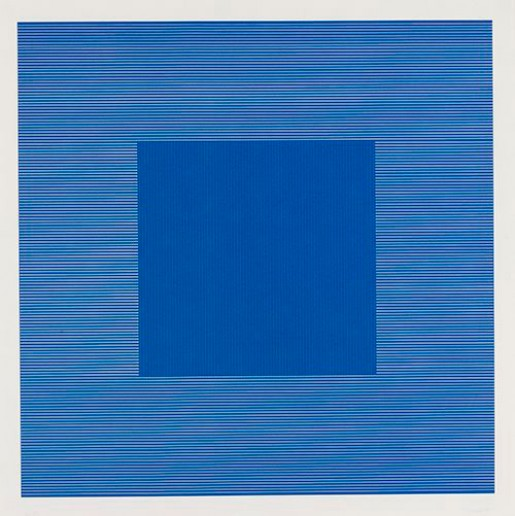 Sol LeWitt, Lines in Two Directions & In Five Colors on Five Colors with All Their Combinations, 1981