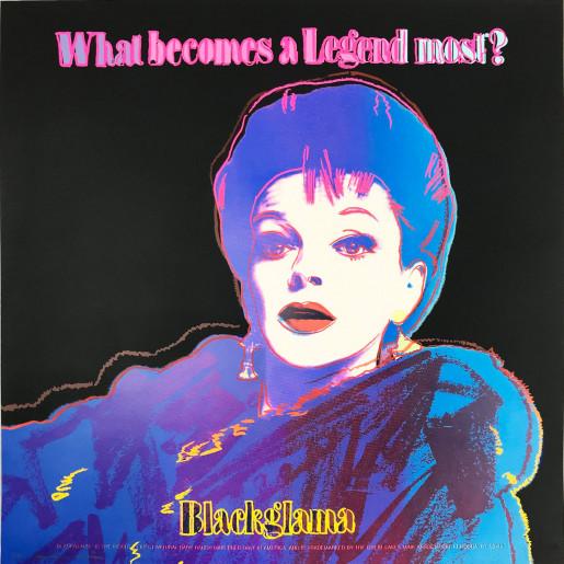 "Andy Warhol, Blackglama (Judy Garland) (FS II.35), from the Portfolio ""ADS"", 1985"