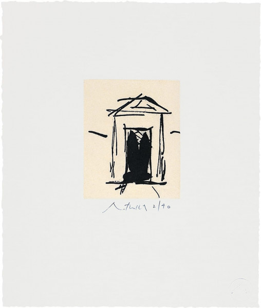 Robert Motherwell, House of Atreus, 1983