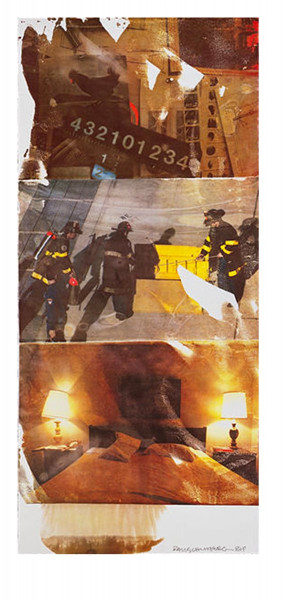 Robert Rauschenberg, Residence (Speculations), 1997