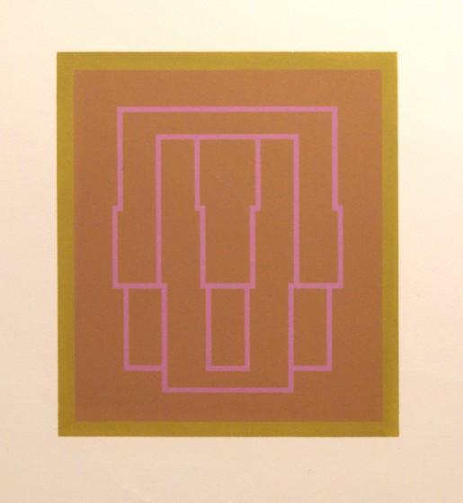 Robyn Denny, Portraits (Series B), V, 1970
