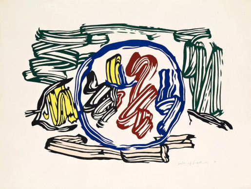 Roy Lichtenstein, Apple and Lemon, 1983