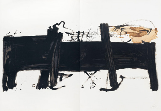 Antoni Tàpies, Grande table, 1984