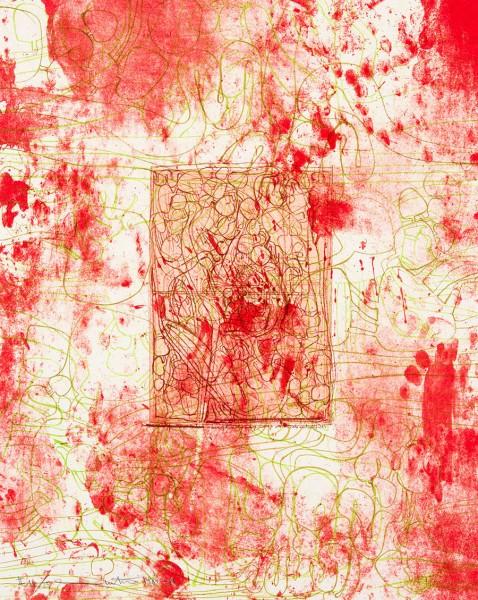 Hermann Nitsch, Die Architektur des orgien Mysterien II -  3, 1984