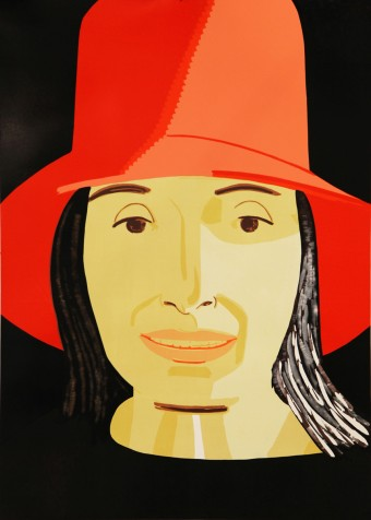 Red Hat Ada by Alex Katz