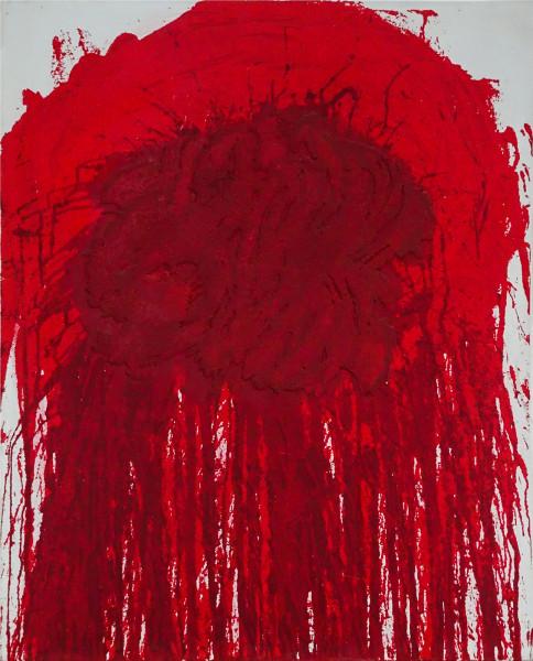 Hermann Nitsch, Untitled IV, 2019