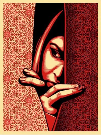 Shepard Fairey-Israel / Palestine