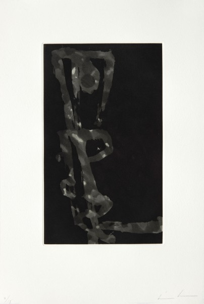 James Brown, Stabat Mater Black & Grey XIII, 1988