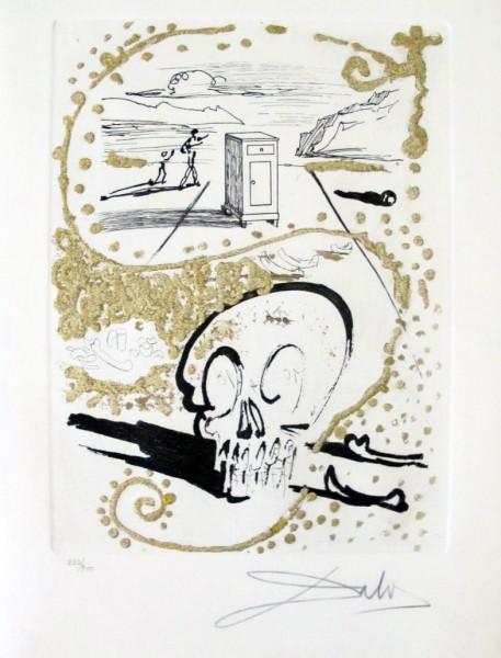"Salvador Dalí, ""Insomnie"" from ""Les Amours Jaunes"", 1974"
