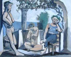 Pablo Picasso,  Bacchanal   Bacchanale, 1959/1963