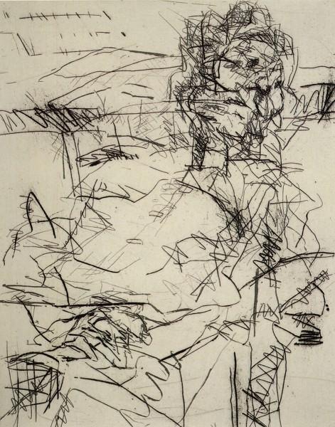 Frank Auerbach, Ruth II, 1994