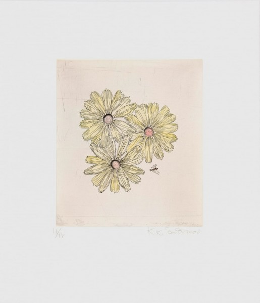 Kiki Smith, Flower and Bee (B), 2000