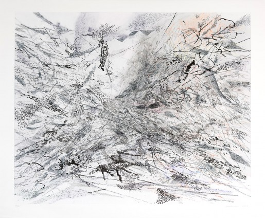 Julie Mehretu, The Residual, 2007