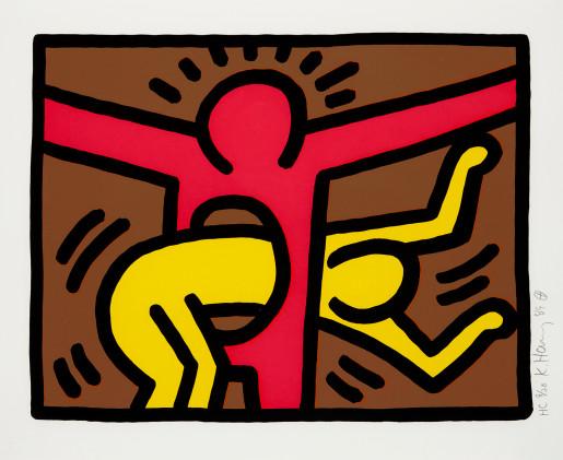 Keith Haring, Pop Shop IV (C), 1989