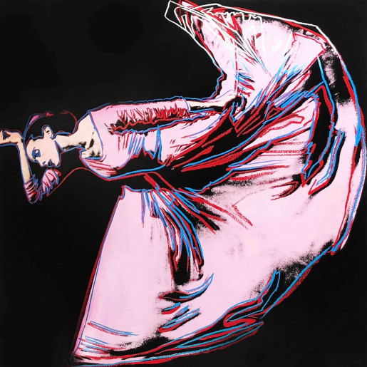 "Andy Warhol, Letter to the World (The Kick) (FS II.389) from the Portfolio ""Martha Graham"", 1986"
