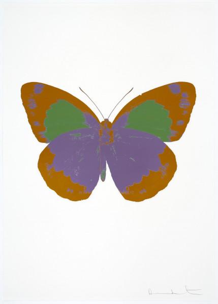 Damien Hirst, The Souls II - Aquarius/Paradise Copper/Leaf Green, 2010