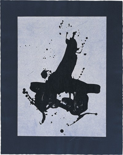 Black on Black by Robert Motherwell