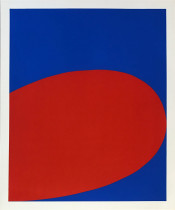 Red/Blue from Ten Works by Ten Painters portfolio