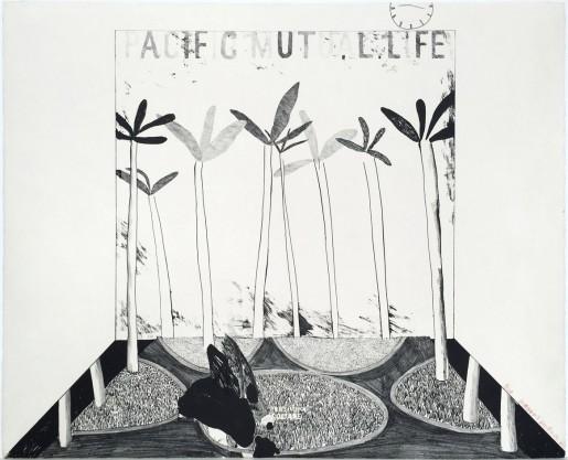 David Hockney, Pacific Mutual Life, 1964