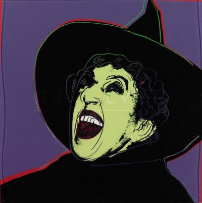 """The Witch (FS II.261), from the Portfolio """"Myths"""" by Andy Warhol"""
