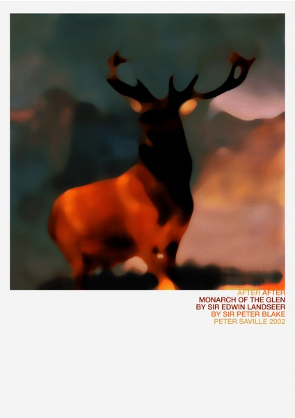 Peter Saville, Monarch of the Glen, 2002