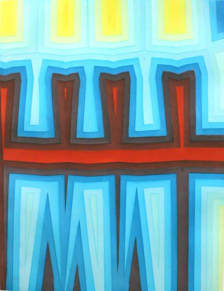 Tauba Auerbach, Fold/Slice Topo I, 2011