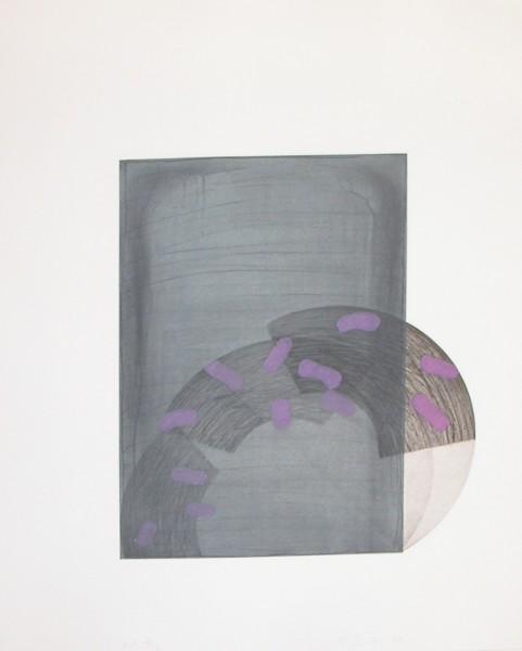 Richard Smith, Drawing Boards I : grey / purple, 1980