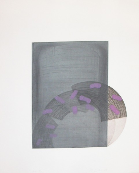 Richard Smith, Drawing Boards I : grey / purple, 1980