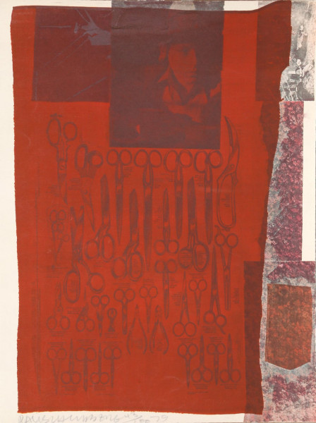 Robert Rauschenberg, The Most Distant Visible Part of the Sea, 1979