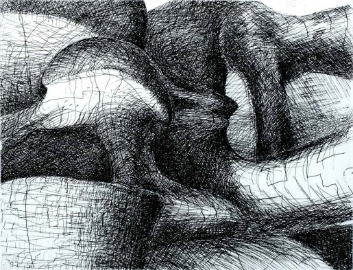 Henry Moore, Imaginary Prisons, 1969/70