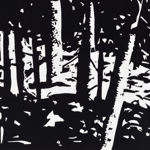 Alex Katz, Maine Woods II, 2015