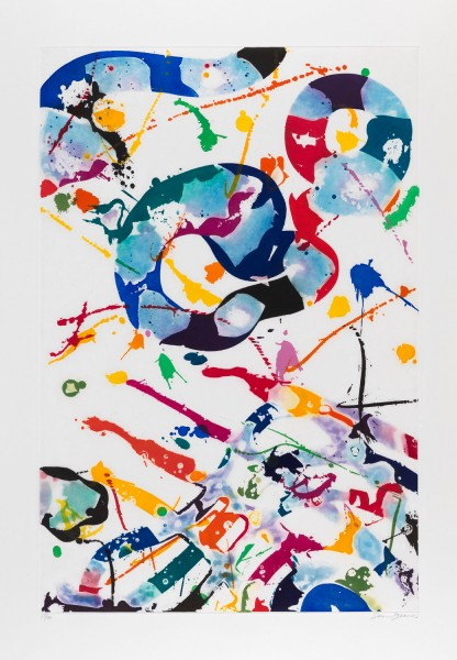 Sam Francis, Untitled, 1992