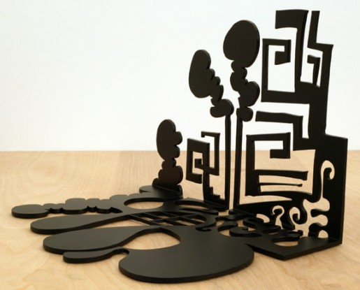 Carroll Dunham, Shadow in a Corner V, 2004