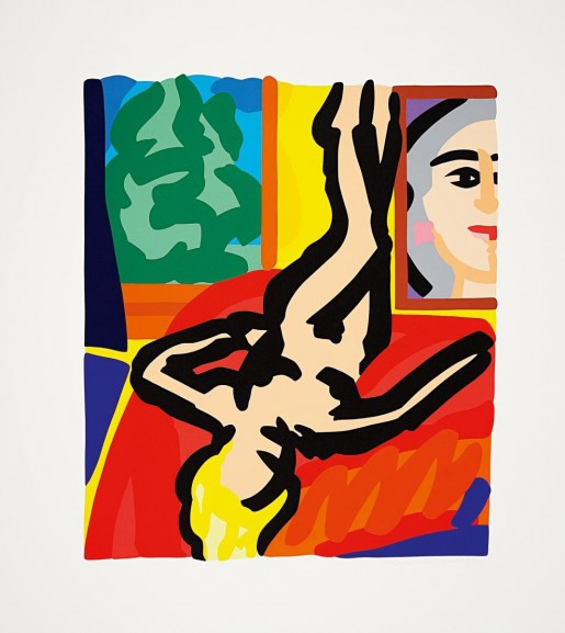 Tom Wesselmann, Nude with Picasso, 2000