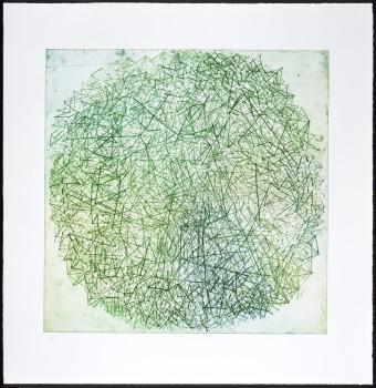 Xanadu (green) by Tal R