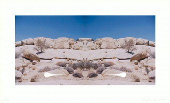 Bow-Tie Teardrop (Bow-Tie Landscapes) by Ed Ruscha