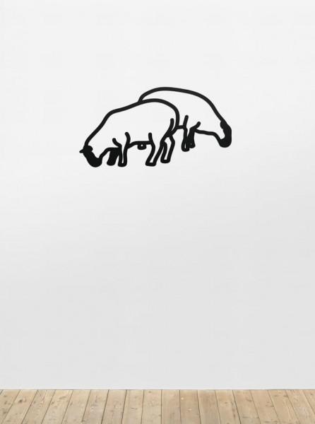 Julian Opie, Sheep 1, from Nature 1 Series, 2015