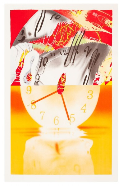 James Rosenquist, Hole in the Center of the Clock, 2007
