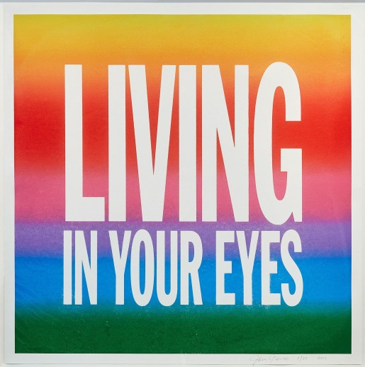 John Giorno, LIVING IN YOUR EYES, 2017