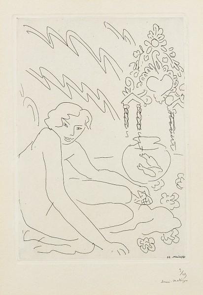 Henri Matisse, Nu au Miroir Marocain, 1929